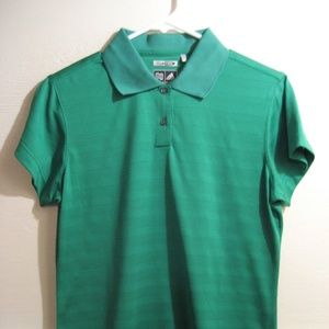 ADIDAS CLIMACOOL, womens polo style shirt size med
